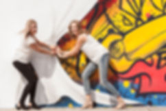 Kate Katie Grafitti curtain.jpg