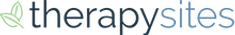 therapysites logo. They are a tool for private practice marketing