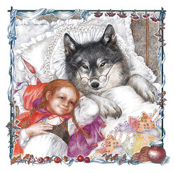 The Girl with Wolf