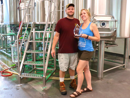 Bentonville Brewing Wins Small Business of the Year Award 2020