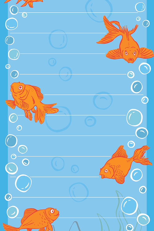 Memory Of A Goldfish Note/List Pad
