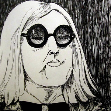 Woman in Glasses Sketch, Sketchbook, Pitman Draws