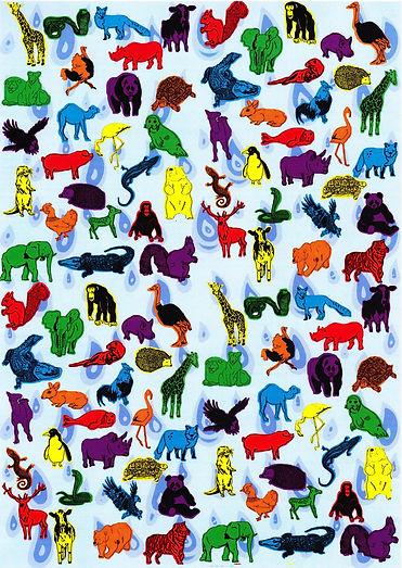 Noahs Ark Animal Print | Pitman Draws