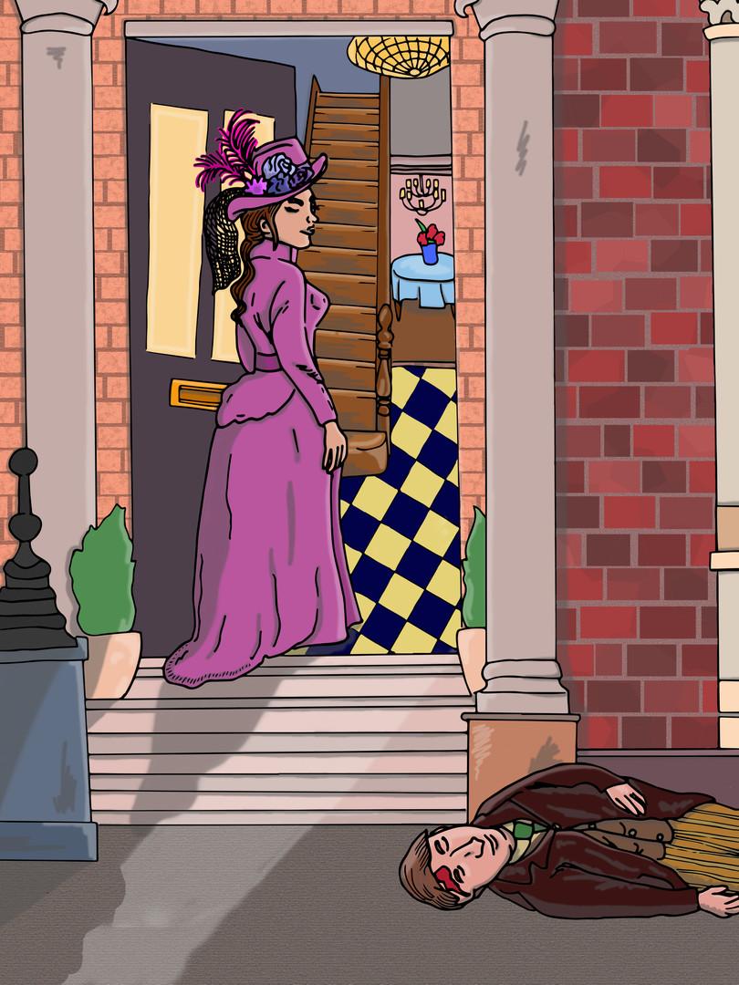 A Scandal In Bohemia, Sherlock Holmes | Pitman Draws