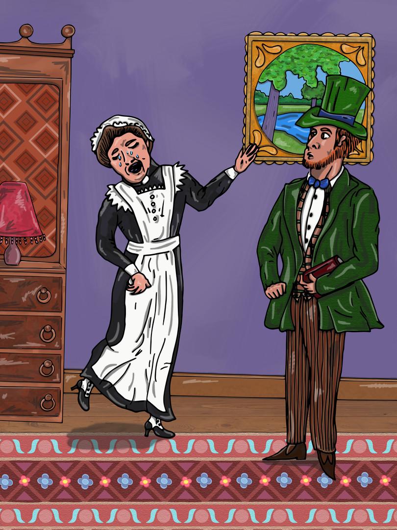 Sherlock Holmes - The Musgrave Ritual | Pitman Draws