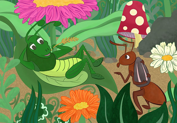 The Ant & Grasshopper Fable