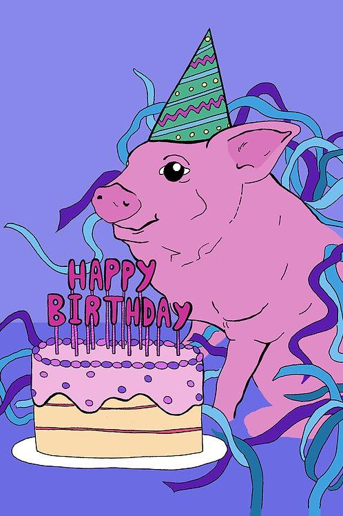 Happy Birthday Pig