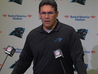 Carolina Panthers take bold steps into the future, release head coach Ron Rivera