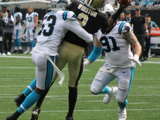 Panthers look to unleash smothering defense in Houston, stifle another rookie quarterback