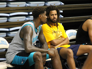Will J. Cole follow Drake's lead as eccentric celebrity sports fan
