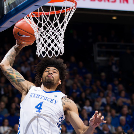 Hornets bolster defensive capabilities with addition of former Kentucky Wildcat Nick Richards