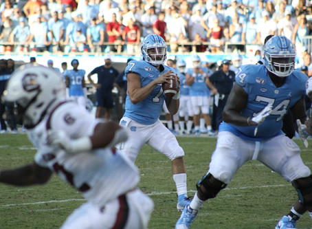 Tar Heels shock Gamecocks with exciting fourth quarter comeback