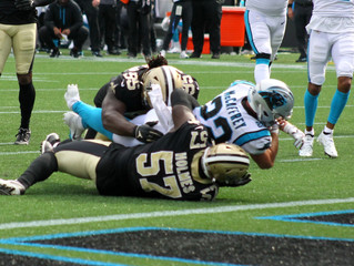 Panthers topple Saints 26-7 as defense disects Jameis Winston apart
