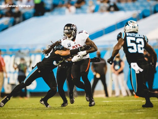 Panthers drop to 3-5 after 25-17 loss to Atlanta Falcons
