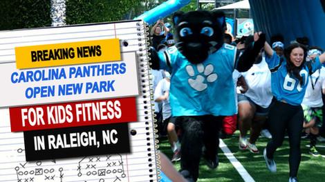 Carolina Panthers open new fitness themed park
