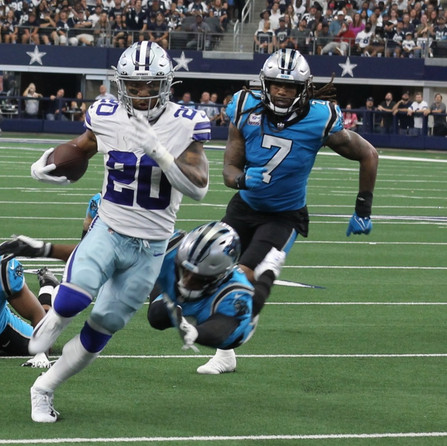 Panthers run defense porous against first big test of the season