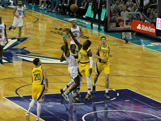 Charlotte Hornets credit star-like performance from Graham, Biyombo in 122-120 OT win over Pacers