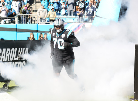 Carolina Panthers guard Trai Turner joins teammates McCaffrey and Kueckly in 2020 Pro Bowl