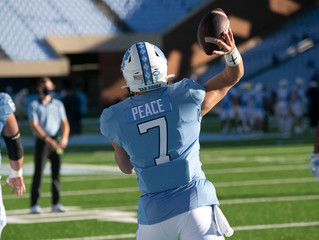Tar Heels and Fighting Irish locked in gridiron shootout