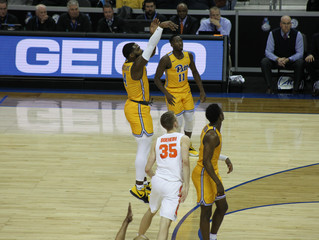 Pitt Holds Their Own Against Syracuse in First Half