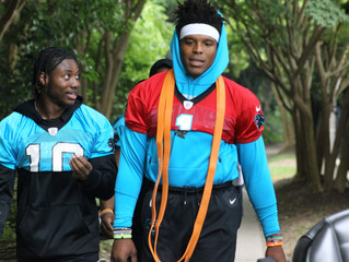 Panthers' OTAs roll on, Cam Newton a no-throw