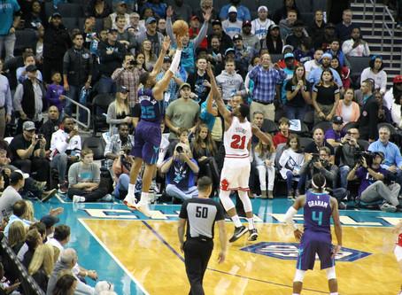 Charlotte Hornets sting Bulls in 126-125 opening night thriller