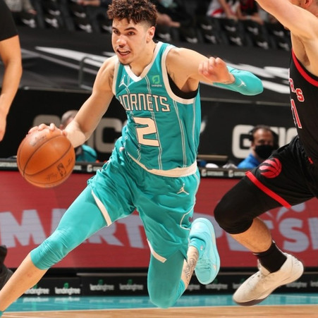 LaMelo Ball boosts Hornets past Raptors 114-104