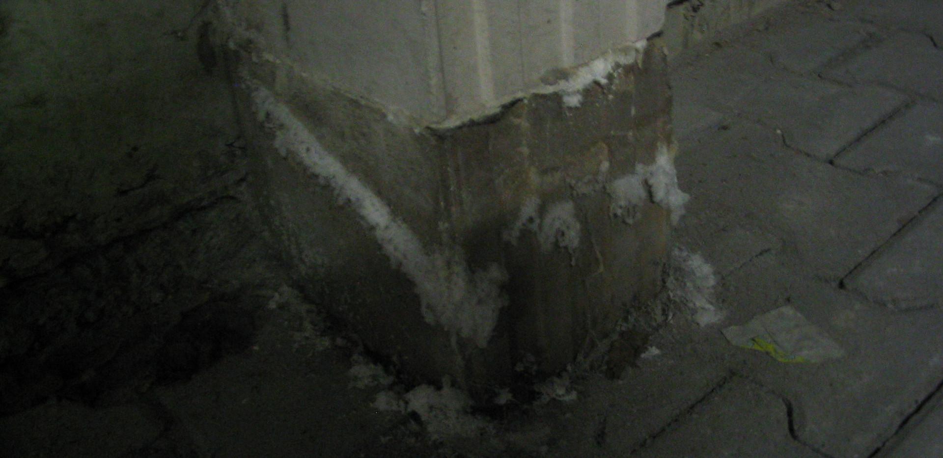 Fehlender Chloridschutz in Tiefgarage