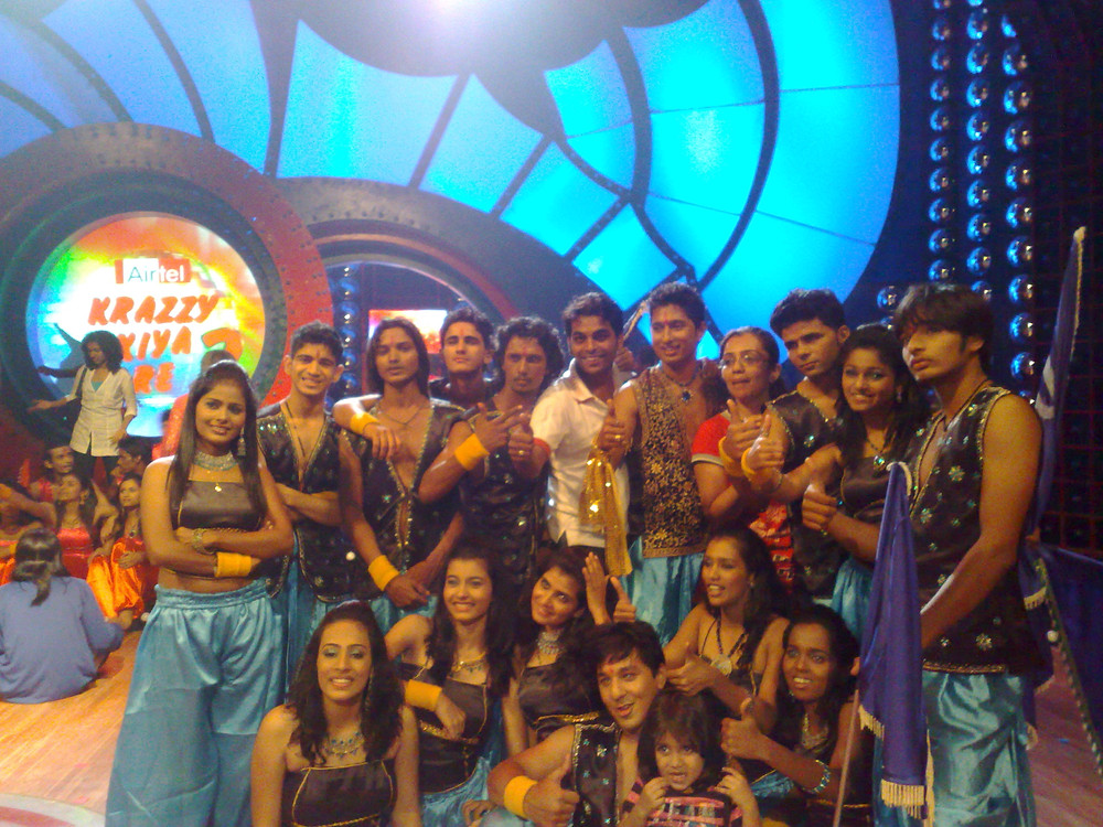 The dance reality show i was a part of. Good memories