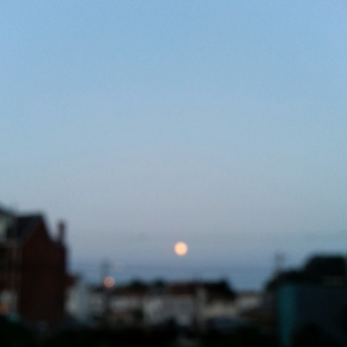 Moon over Millvale
