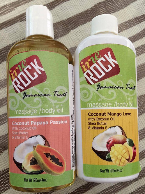 Irie Rock Massage Body Oil