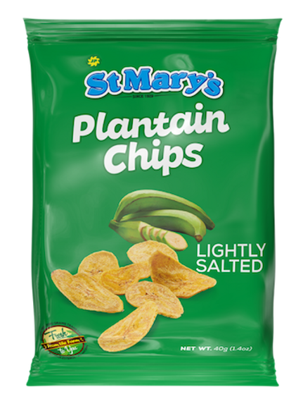 St. Mary's Plantain Chips 45g (lightly salted)
