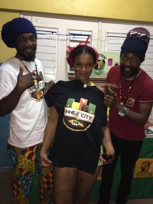 Inner City Dub Black Tshirts Female SMALL x 1