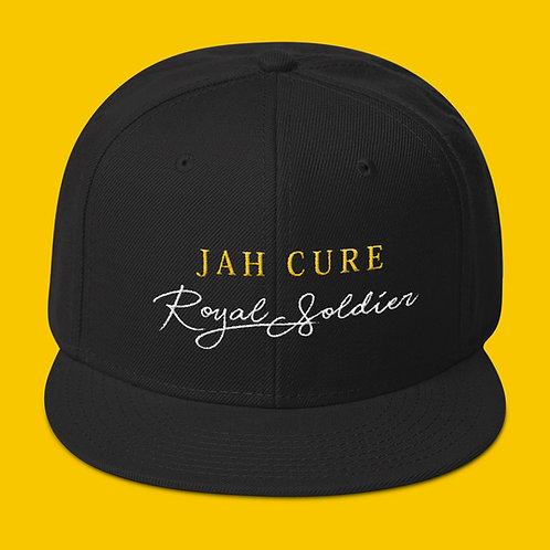 Jah Cure Royal Soldier Caps (Black)