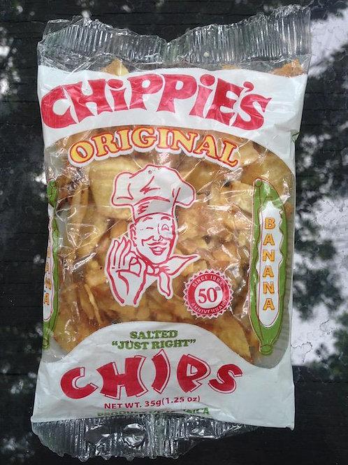 Chippie's Original Banana Chips ( 3 packs)