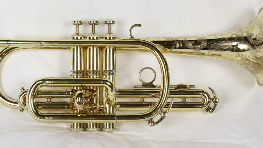Rare 1953 Gold Plated Martin Committee Cornet