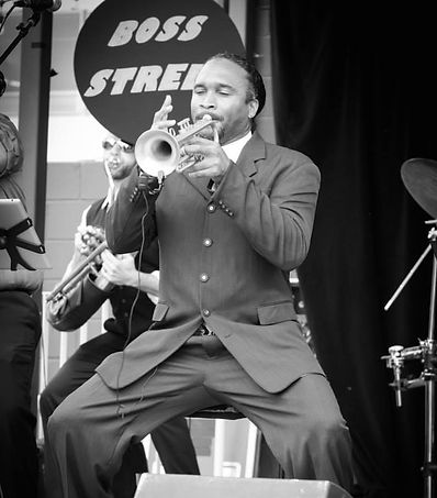 Austin Winds Artist Ormide Armstrong of Boss Street Band