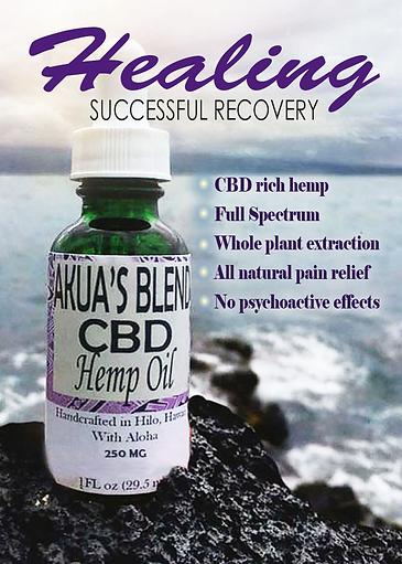 Akua's Blend CBD Hemp Oil