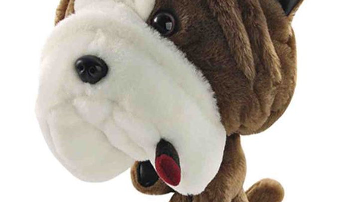 Longridge Club Hugger Headcover - Bulldog