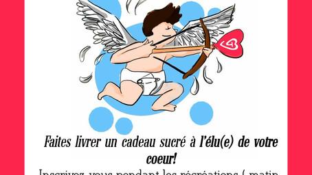 Action sucettes St Valentin