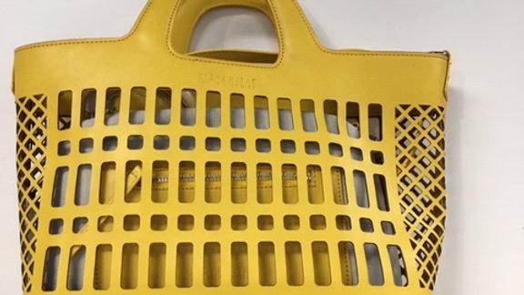 HISPANITAS Basket tote Mimosa