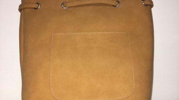 COLAB Drawstring backpack Honey