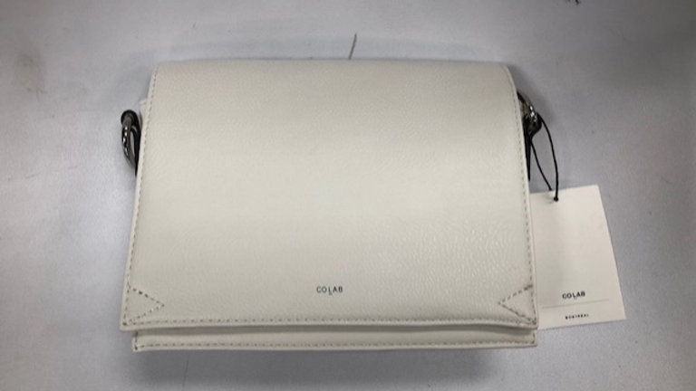 COLAB Crossbody Tech Pouch White