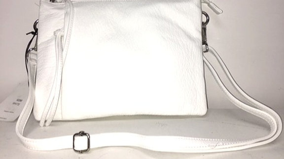 COLAB Clutch crossbody White