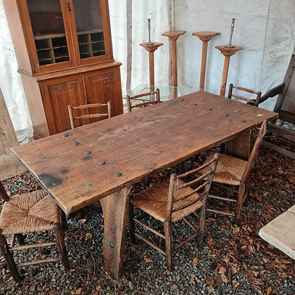 Rustic Studwork Table