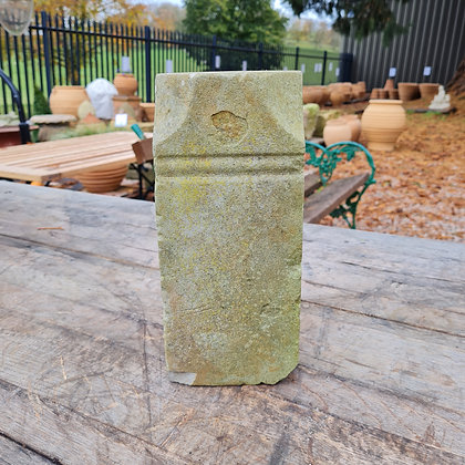 Small Architectural Carved Stone Plinth