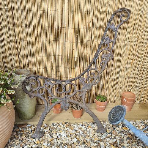 Decorative Cast Iron Bench Ends