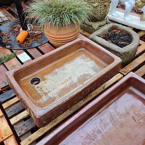 Fluted Salt Glazed Sink