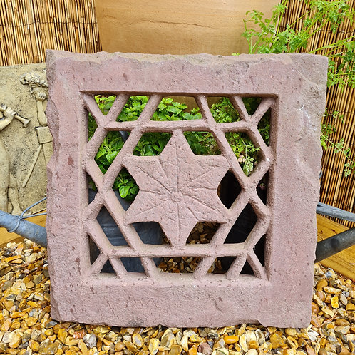 Antique Hand Carved Jali Stone Window / Panel