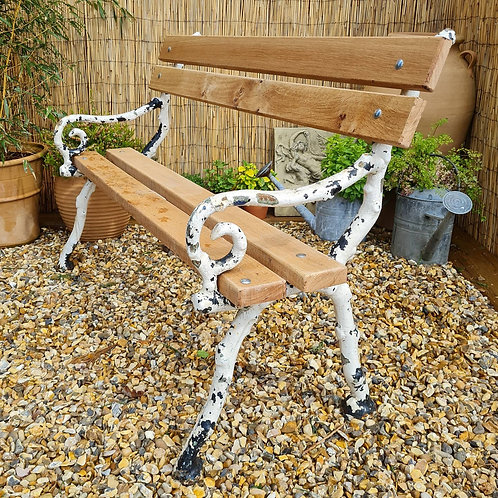 Victorian Period Branch Design Garden Bench